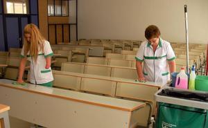 Verdiblanca se encargará de la limpieza del campus