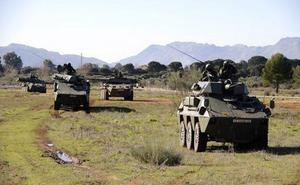 La Brigada de La Legión lleva a cabo un importante despliegue en la provincia de Almería