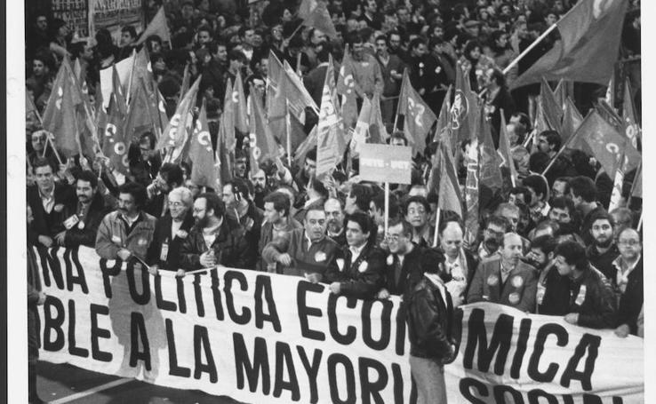 30 años de la única huelga que consiguió paralizar España