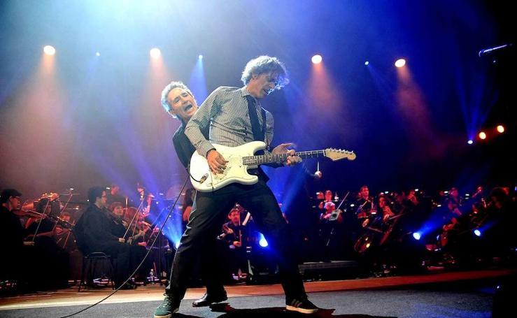 Algunas imágenes del concierto de Miguel Ríos en Granada