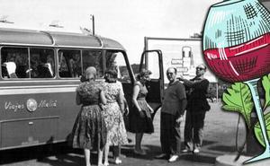 Un viaje gastronómico en los 50