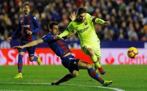 Messi hace el segundo del Barça
