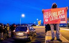 Una gran manifestación contra el Consejo de Ministros