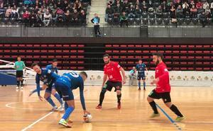 El Mengíbar FS da un golpe de efecto en la cancha de Castellón para afianzarse en play off