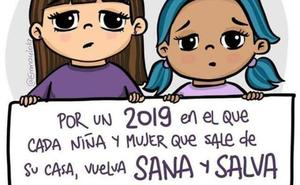 «Que cada niña y mujer vuelva sana y salva a su casa», el mensaje en las redes tras el suceso de Laura Luelmo