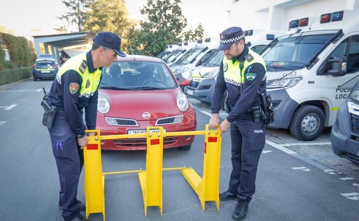 Así son las vallas anti 'vehículos asesinos' que se instalarán en Granada por Navidad