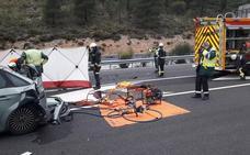 El conductor que embistió al coche parado en la A-92, provocando la muerte de una mujer, dio negativo en alcohol