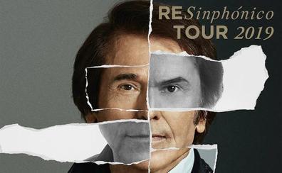 Raphael actuará con la OCAL en Almería el próximo 17 de mayo