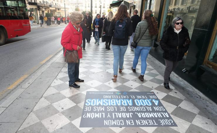 ¿Qué significan los vinilos que te encontrarás por las calles de Granada?
