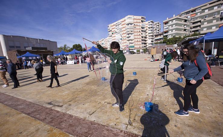 500 chavales en la plaza de la Coronación de Motril para el Encuentro Joven