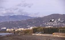 10 detenidos tras abortar el desembarco de un alijo de hachís en Motril