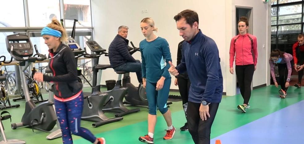 Jacinto Garzón imparte conocimientos sobre marcha atlética en Francia