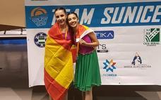 Dos deportistas de Las Gabias se proclaman campeonas de España en patinaje artístico sincronizado