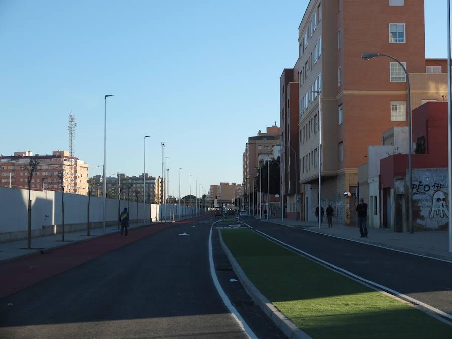 Así es la nueva 'avenida de Sierra Alhamilla' de Almería