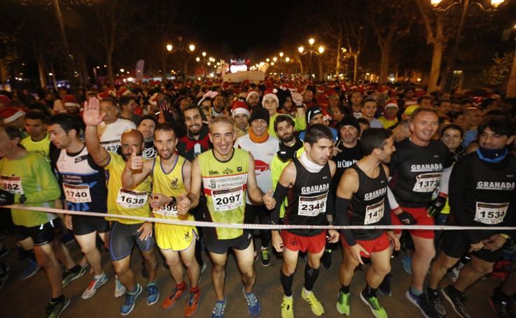 Las mejores imágenes de la Carrera Nocturna de Granada
