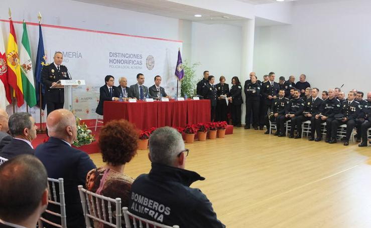 La Policía Local celebra su patrón con la vista puesta en su inminente renovación