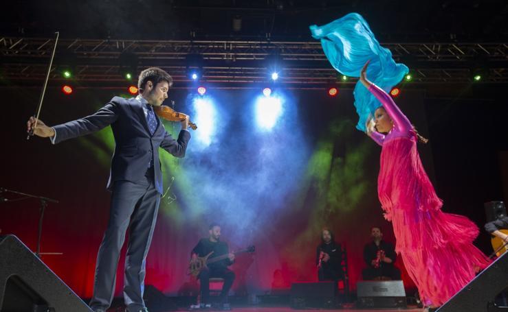 Las mejores imágenes del espectáculo de Paco Montalvo