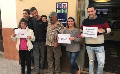 El Gordo de la Lotería de Navidad cae en Cambil, Villacarrillo y Úbeda
