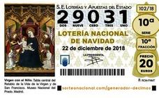 El 29031, quinto premio del sorteo de la Lotería de Navidad cae en Almería, Jaén, Granada, Barcelona, Lleida y Madrid