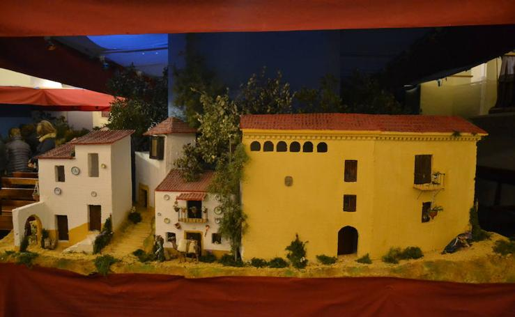 El Belén bíblico en el Convento de San Diego en Alhama