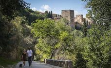 Camino del Avellano, el paseo que discurre entre leyendas, poesía y las aguas del río Darro