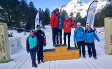Jorge Otalecu, campeón de España de esquí nórdico en Benasque