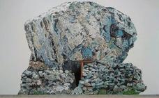 La pintora Irene Sánchez Moreno lleva la alta montaña a Cádiz