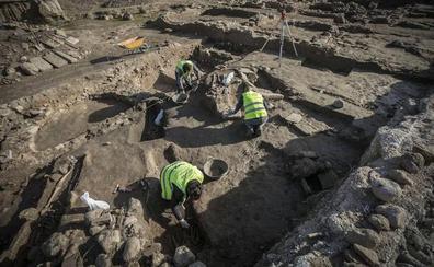 Descubren importantes restos de un edificio del siglo IV en los Mondragones
