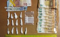 Arrestado en Viator con 13 dosis de cocaína ocultas en su pierna ortopédica