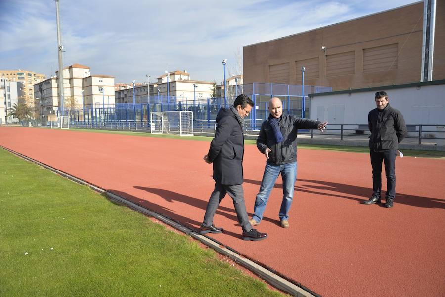 El Complejo Deportivo Núñez Blanca estrena pavimento