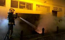 Queman otros seis contenedores en una sola noche en el Albaicín y ya van trece