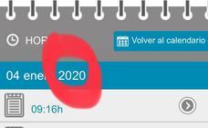 Un error informático muestra en 2020 las citas médicas para los próximos meses