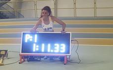 Laura Bueno bate el récord nacional en 500 metros
