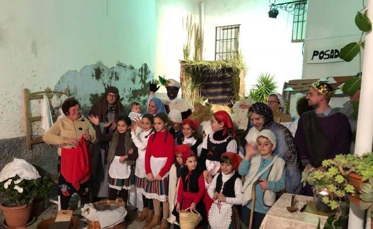El corazón del Casco Antiguo de Salobreña se hace belén