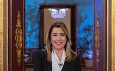 Susana Díaz alerta de la «amenaza» de «regresión histórica» en Andalucía en alusión a Vox