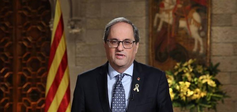 Torra llama a hacer de 2019 el año de la «libertad» de Cataluña