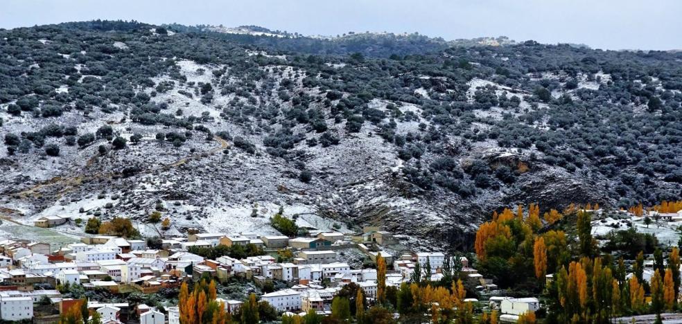 El año en el que la nieve llegó en el mes de octubre