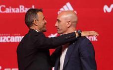 Rubiales: «Esperamos que Luis Enrique coloque a España en el lugar que se merece»