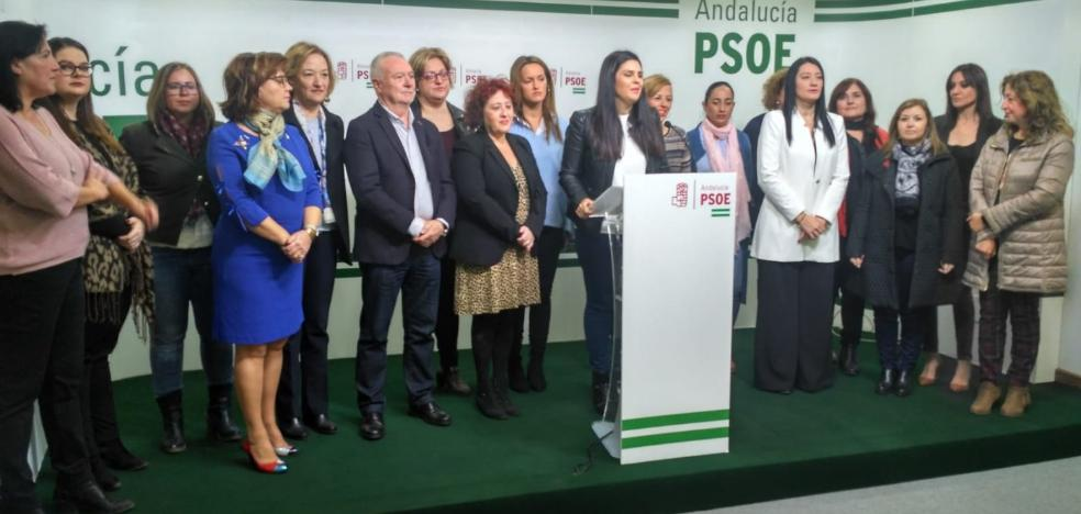 Las mujeres del PSOE dicen 'no' al «órdago» de Vox contra la Ley de Violencia de Género