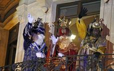 Los Reyes Magos vuelven a la Plaza Vieja de Almería