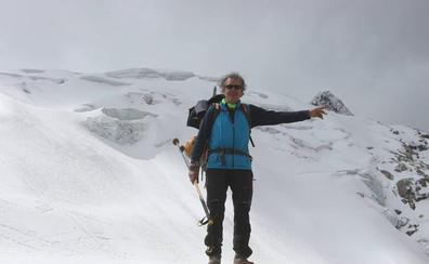 El almeriense Salvador Hurtado hace cumbre en el Vallunaraju