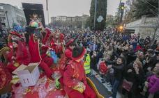 Cortes de tráfico y cambios en los autobuses por la Cabalgata de Reyes en Granada