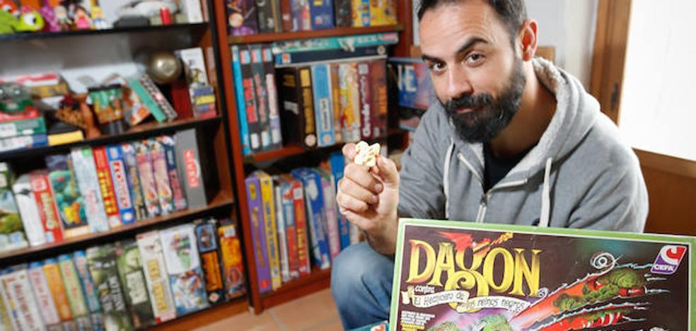 La colección de juegos de un granadino que viaja a los ochenta a lomos de un dragón