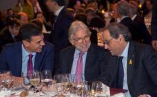 La patronal catalana y UGT reclaman a los independentistas que aprueben las cuentas de Sánchez