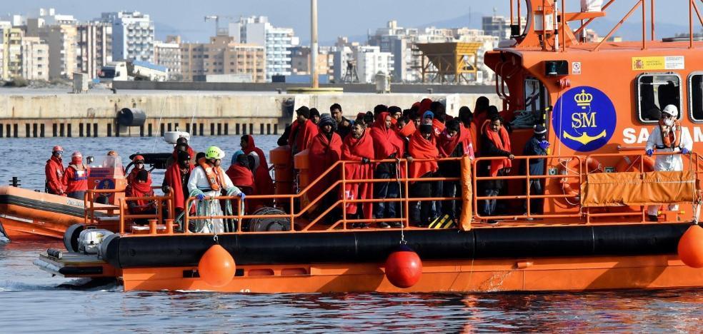 Uno de cada cuatro migrantes embarcados en África en 2018 llegó al puerto de Almería