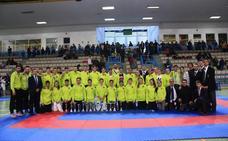 La delegación granadina obtiene 24 medallas en el Andaluz