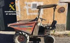 Detenido un vecino de Alicún por presuntamente robar un vehículo dumper