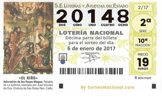 El tercer Premio del sorteo de la Lotería del Niño es el 20148 y ha caído en Sabadell
