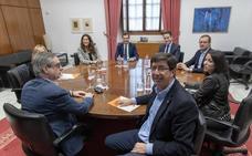 PP y Cs ultiman el futuro gobierno a la espera de que se confirme la investidura de Moreno