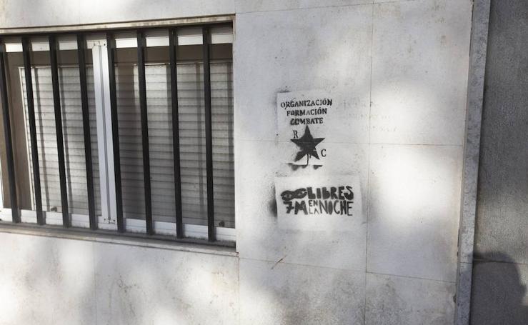 Las pintadas que molestan a la comunidad universitaria de Granada
